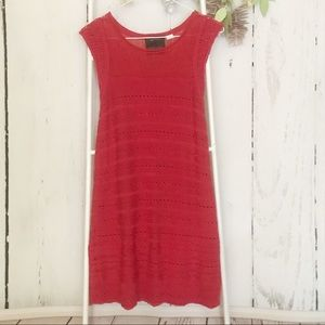 Anthropologie Guinevere Dash Dotted Mini Dress SM